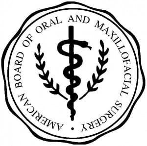 Board Certified Oral Surgeon logo